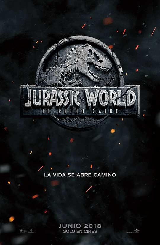 Jurassic World: El Reino Caído Cover Art